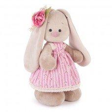 Зайка Ми в розом платье