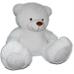 Гигантский плюшевый медведь 170 см белый