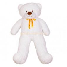 Двухметровый плюшевый медведь (белый)