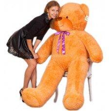 Двухметровый плюшевый медведь