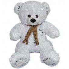 Медведь в шарфе 45 см