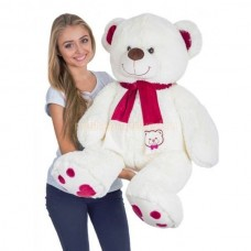 Плюшевый медведь с шарфом 120см