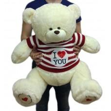 Мишка Тедди в кофте 95 см, белый
